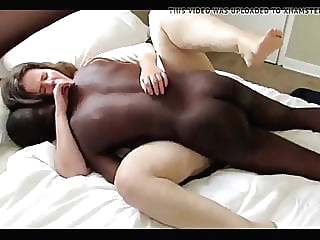 Your mom has also her needs-5 creampie interracial milf