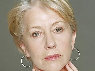 GRAND LADY HELEN MIRREN blonde celebrity mature