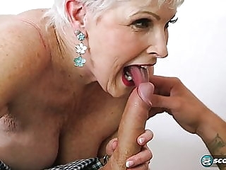 Jewel is a granny Milf 67 years old blowjob cumshot mature