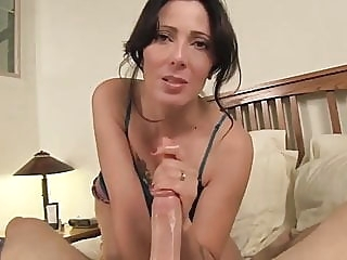 With Aunt at Hotel blowjob cumshot milf
