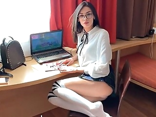Beauty from Russia spread her legs for shooting porn in different pose... pov russian straight