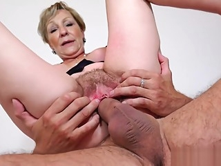 Busty Granny Sanny Will Make You Cum Guaranteed ! BigPussyLips (Episode 01) big clit big tits blonde