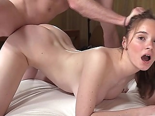 Casting young babe got cancer and jumping on my dick in a pose rider... big tits casting pov