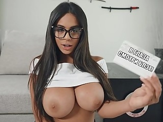 The latina with big booty and Boobs spread her legs for sex on the flo... big ass big tits hairy