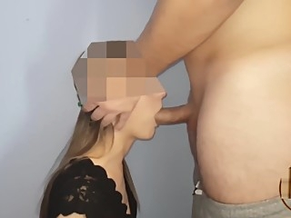 THROBBING ORAL CREAMPIE #2, I FUCKED DRUNK TEEN THROAT AND ORALPIED! amateur big cock couple