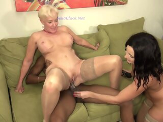 Seka & Helenas Ir 3some big cock blonde brunette