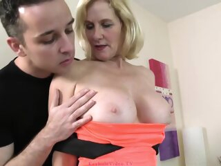 Of age Blonde Fucks To A Young Guy anal big tits blonde