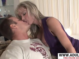 Perfect Body Nurturer Jordan Lynn Gives Handjob Sympathetic Touching Step-son big tits blonde cumshot