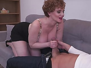 Busty mature mom makes bad coffee but good sex amateur bbw mature