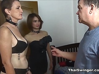 Training of Slutwife D - ThaiSwinger amateur anal asian