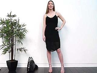 Beauty came to the casting undressed before the goal and had sex... big tits casting pov