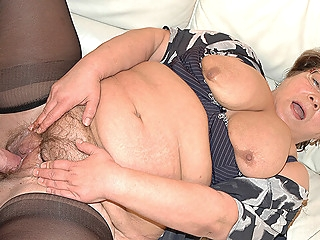 chubby grandma in love with stepson bbw hairy mature