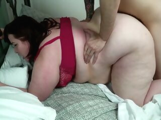 Blonde Bbw Fucks Young Stud bbw big ass brunette