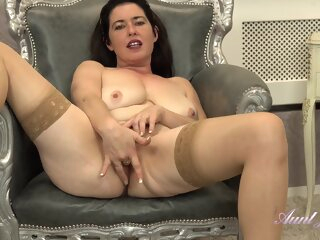 Seducing Auntjudys Andie Janey big tits brunette hd